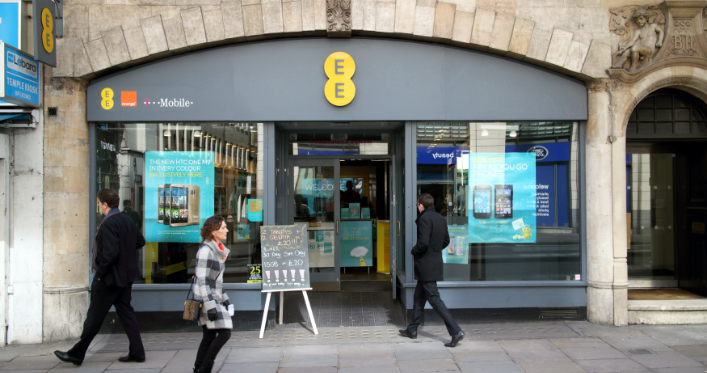 Telecoms company EE Limited fined £100,000 by the ICO