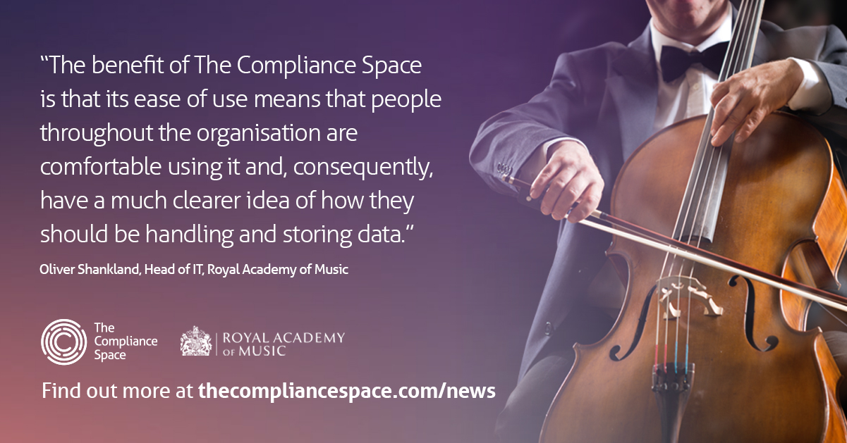 The Compliance Space testimonial - Royal Academy of Music