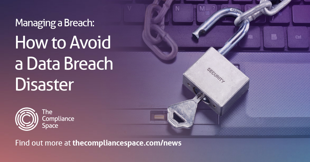 Managing a personal data breach